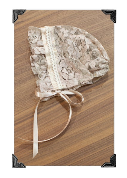 Image of Lace Bonnet