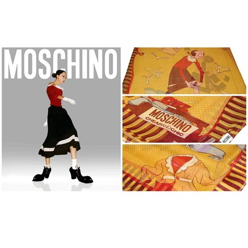 Image of SOLD OUT Moschino Cheap And Chic Sheer Silk Scarf
