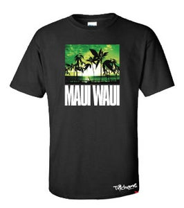 Image of Maui Waui T-Shirt In Black