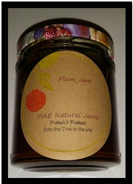 Image of Farm Fresh Plum Jam Conserve