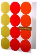 Image of Happy Birthday • Single Note in Cherry & Pookie