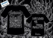 Image of Swallowed the Undead Parasites T-Shirt