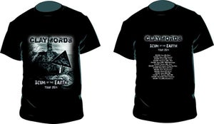 Image of T-shirt Scum of the Earth Tour 2014