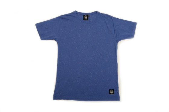 Image of Blue Speckle T-Shirt