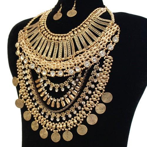 Image of Bohemian Style Necklace Set