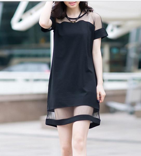 Image of Cute fashion net dress