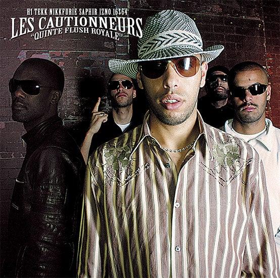 Image of Les Cautionneurs : Quinte Flush Royale (CD)
