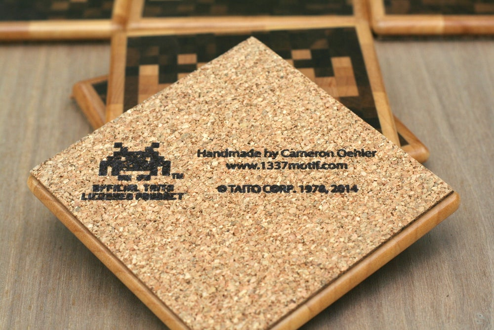 Image of Space Invaders ® Coasters