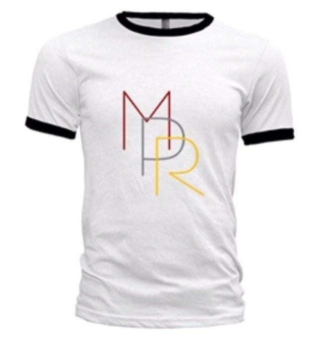 Image of White MPR T-Shirt