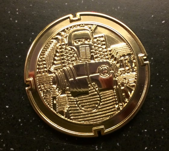 Image of 2-1B Medical Droid GOLD Coin 4th in the Series