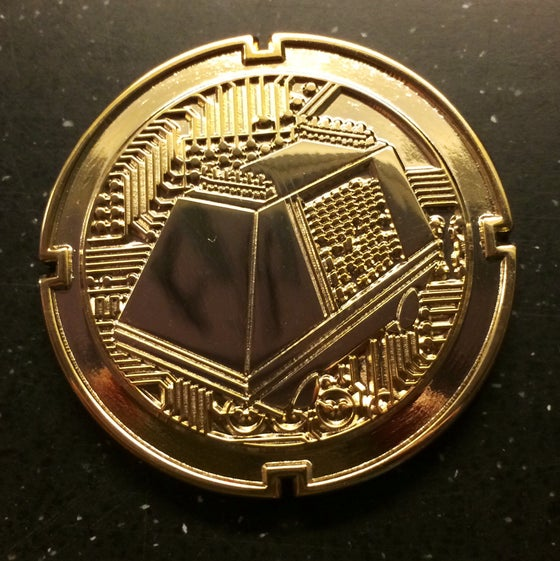 Image of Mouse Droid Coin GOLD 3rd in series