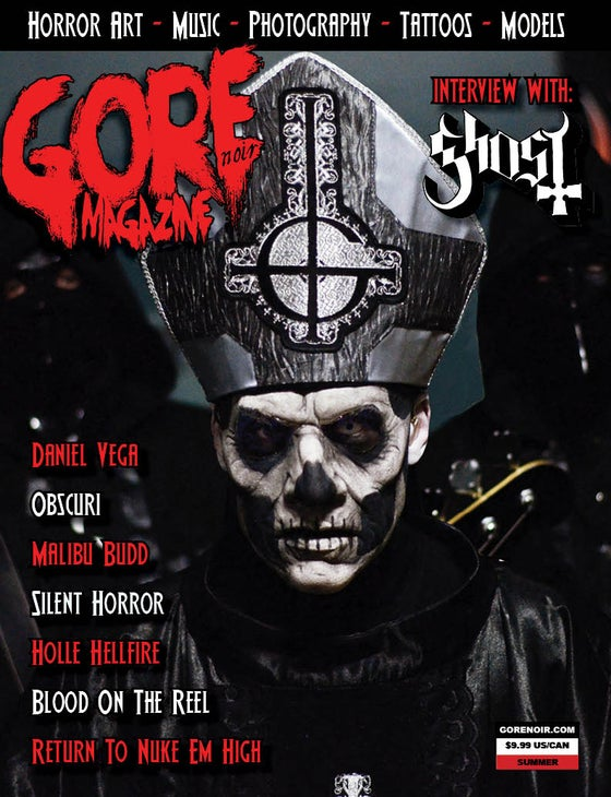 Image of Gore Noir Magazine Issue #11 Featuring Ghost!