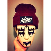 Image of HLAW maroon beanie