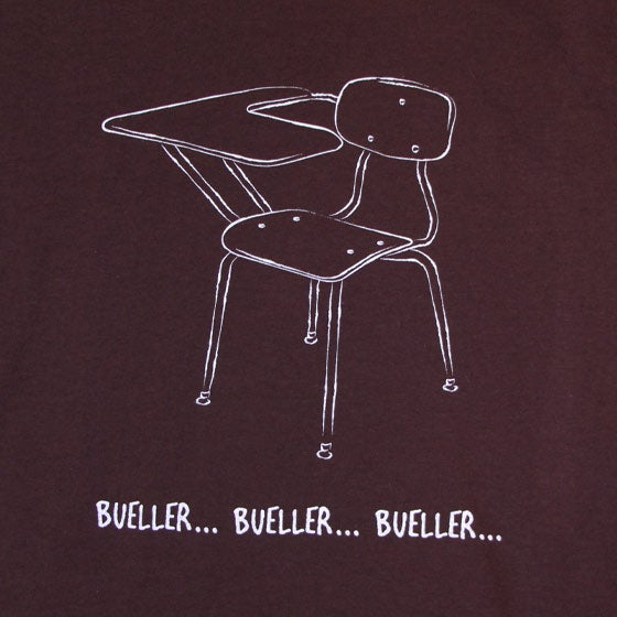Image of Bueller...