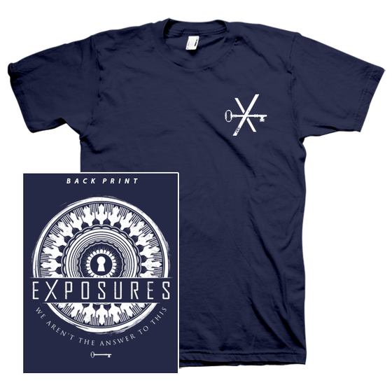 "Image of ""Transitions"" T-Shirt - Navy Blue"