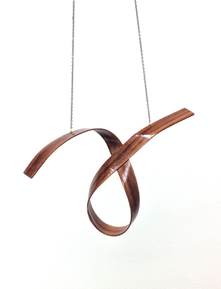 Image of Sculpted Cypress Necklace
