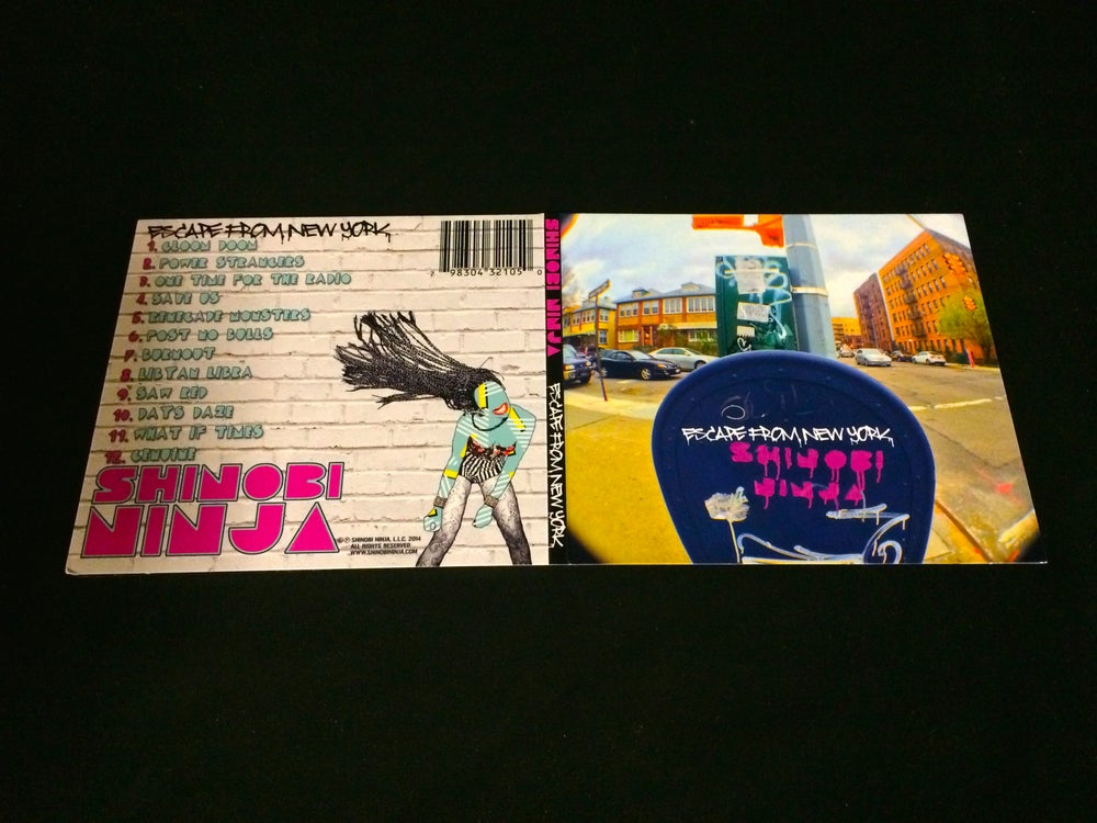 Image of Escape From New York CD