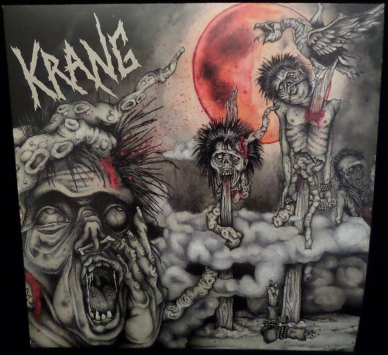 "Image of Krang ""Bad Moon"" LP"