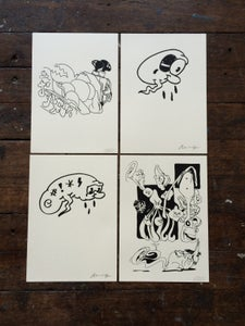Image of Horfee & R. Maurice print set #1