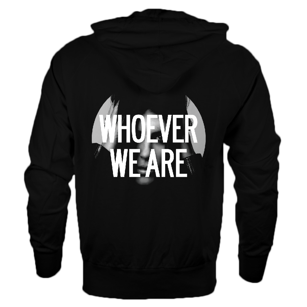 Image of 'HANDS UP'  [PULLOVER HOODIE // UNISEX] BLK
