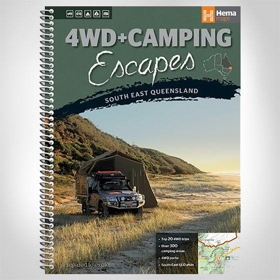 Image of 4WD AND CAMPING ESCAPES SOUTH EAST QUEENSLAND BOOK