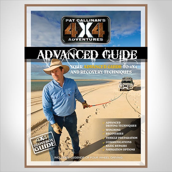 """Image of """"PAT CALLINAN'S 4X4 ADVENTURES"""" ADVANCED GUIDE BOOK"""
