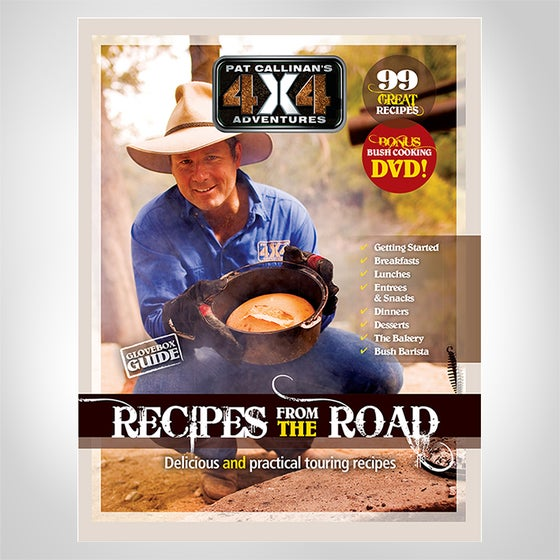 """Image of """"PAT CALLINAN'S 4X4 ADVENTURES""""- RECIPES FROM THE ROAD COOKBOOK"""