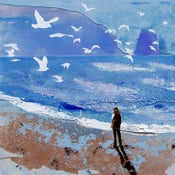 Image of Gulls and Sea Sounds, Treyarnon Bay, Cornwall