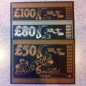 Image of  £50 FST Gift Voucher