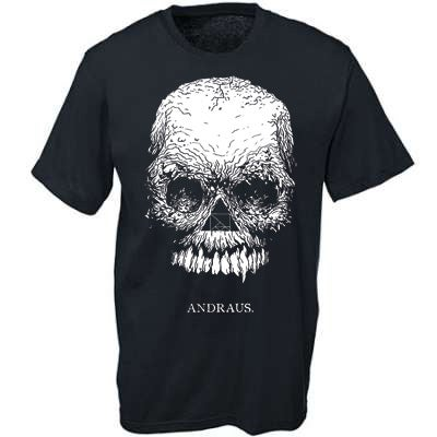 Image of ANDRAUS - Skull t-shirt
