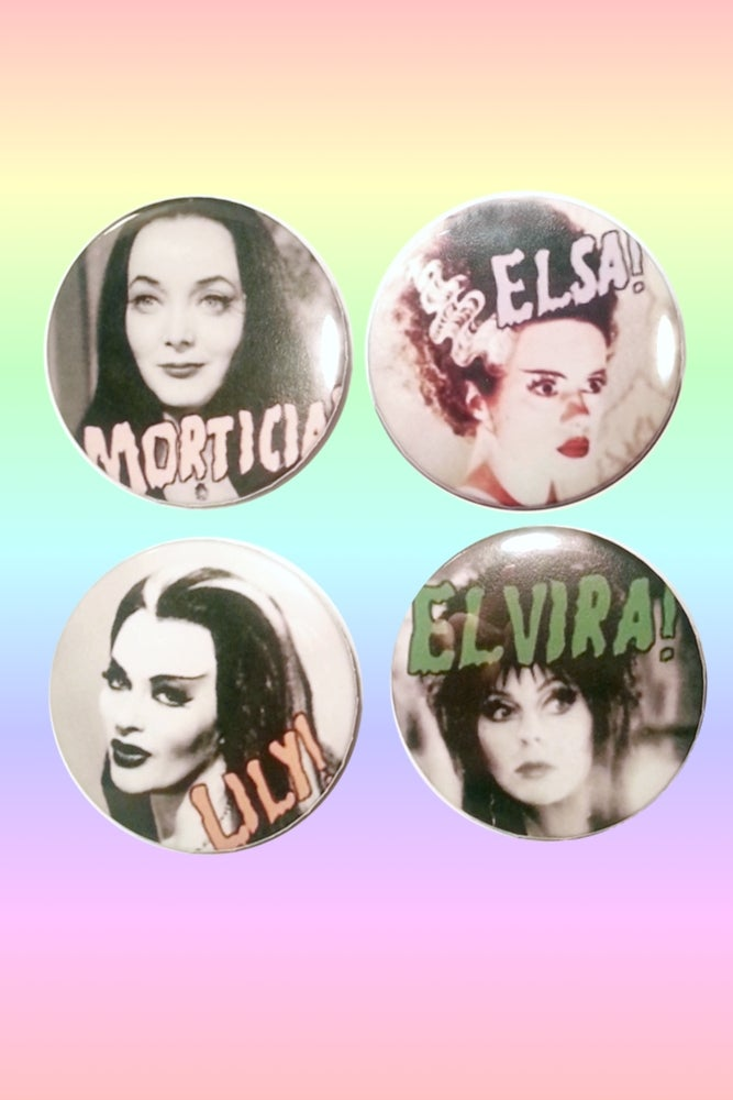 Image of QUEENS OF THE NIGHT BUTTONS
