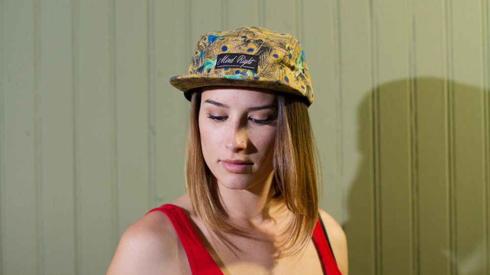 Image of Peacock 5 Panel