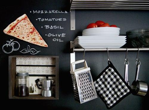 Image of Classic Plain Pizza Slice diecut wood plaque