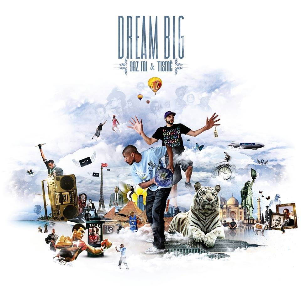Image of Daz-Ini & Tismé | Dream Big (LP)