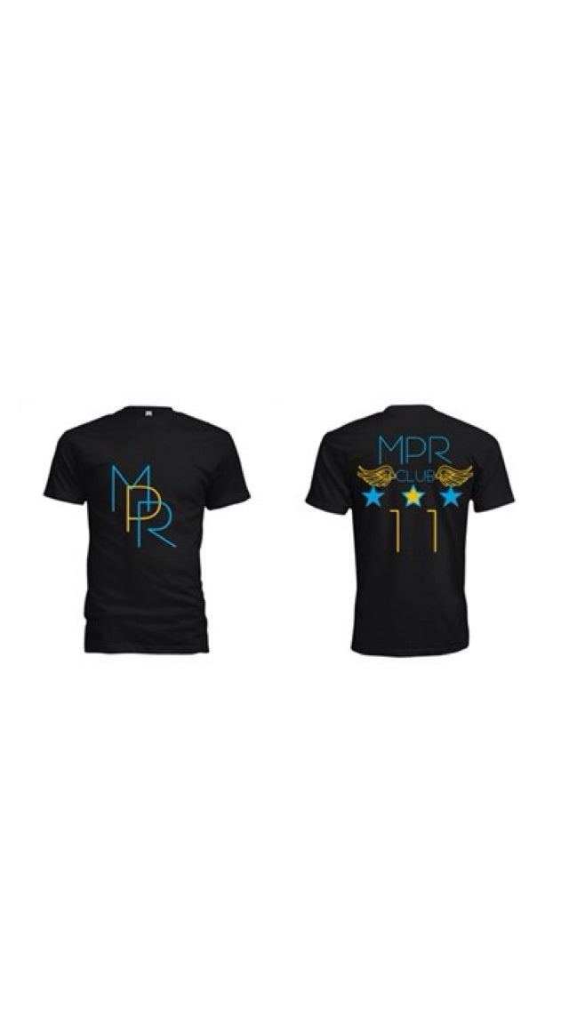 Image of M.P.R Gamma Blue Short Sleeve