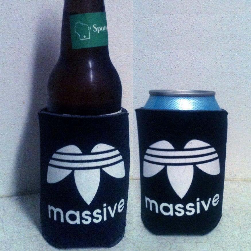Image of Massive Logo Beer Cozy