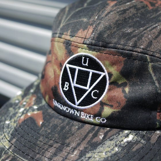 Image of Mossy Oak 5 Panel Hat Unknown Bike Co