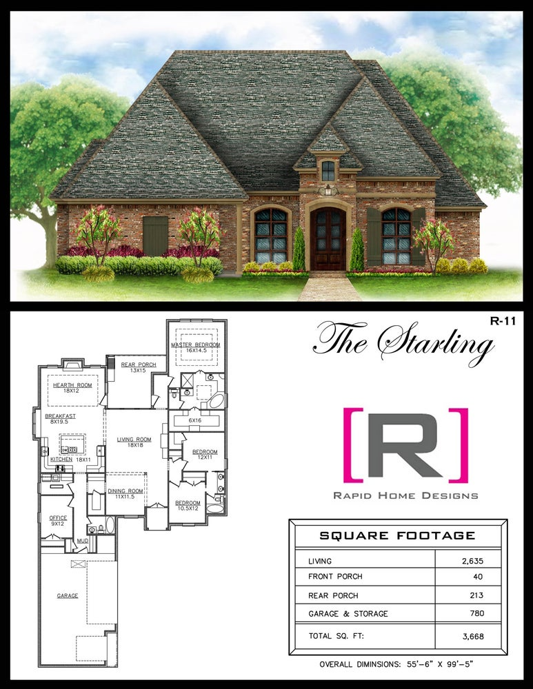 The starling 2635sf rapid home designs for Rapid home designs