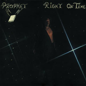 Image of PROPHET - Right On Time - black wave boogie funk LP