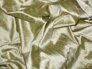 Image of FF Dupioni Silk Fabric Handwoven 45 inch width 50 Color Choices