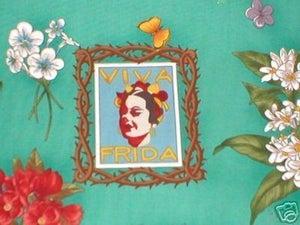 Image of FF Frida Kahlo Fabric - Viva Frida -multiple  Colorways Available