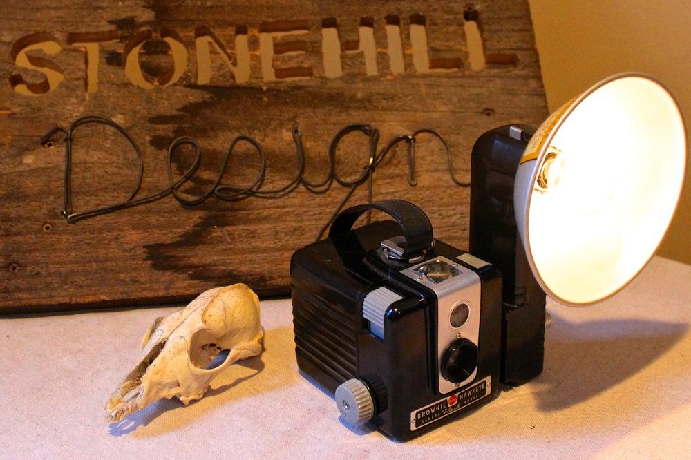 Image of Kodak Brownie Lamp