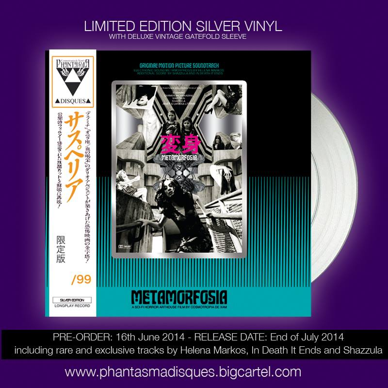 Image of METAMORFOSIA • SILVER VINYL DELUXE LTD 99 + DIGITAL