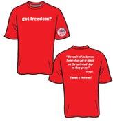 Image of Got Freedom T-shirts