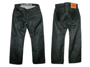 Image of Black Croc Leather
