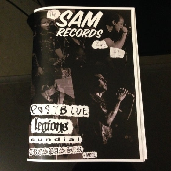 Image of Sam Records Zine Issue #1