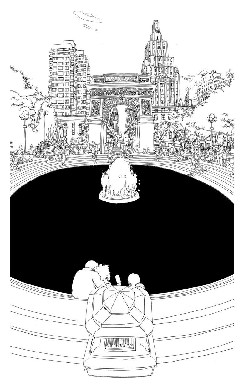 Image of Washington Square, New York