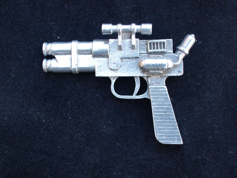 "Image of Le ""SOLO CAPITAINE"" Miniature Raygun Collection No. 4"