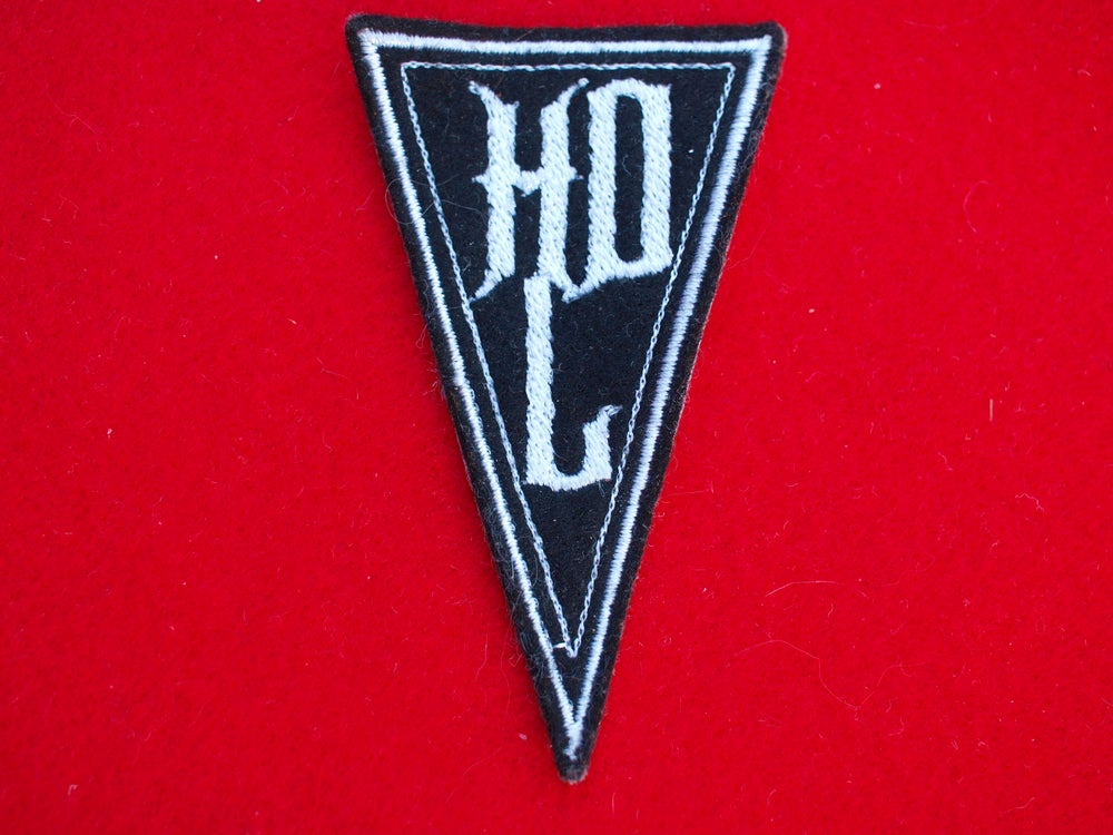 "Image of Herr Döktor's Laboratory embroidered ""HERR DÖKTOR'S LABORATORY"" Logo Patch"