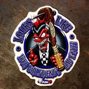 Image of Ugly Stick Sticker